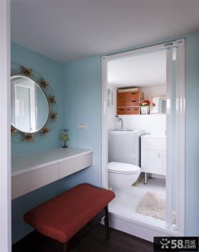 宜家风格公寓卫生间设计效果图