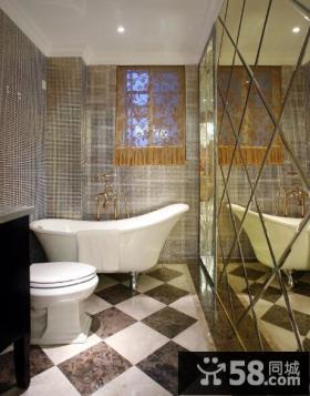 家装欧式风格卫生间装修设计