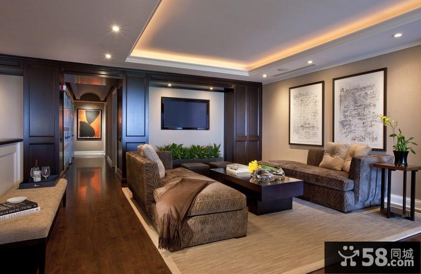 最新别墅客厅装修效果图大全2016