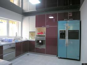 宜家烤漆橱柜厨房装修效果图大全