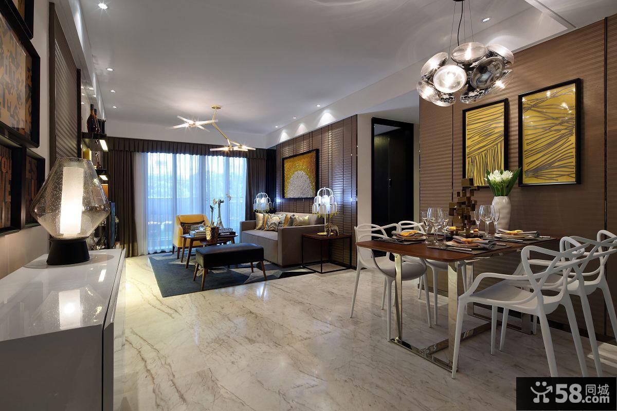 美式家居餐厅图设计