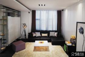 简约时尚两室两厅设计图