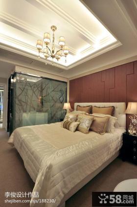 欧式主卧室装修效果图片大全2013图片
