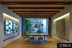 日式家居餐厅装修设计图片