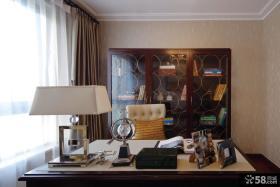 最新新古典风格书房装修效果图片