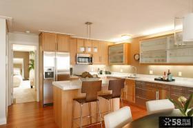 2室1厅1卫开放式厨房装效果图