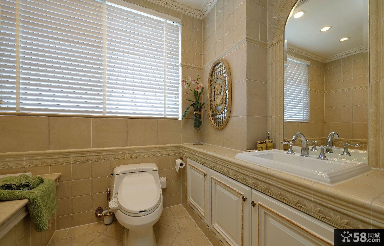 家居设计室内卫生间效果图