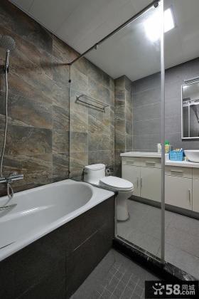 宜家石材墙面装修卫生间设计