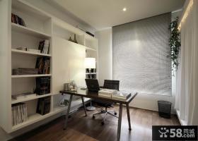 最新现代简约书房设计效果图