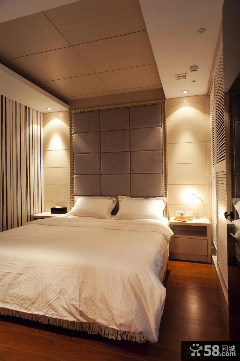 卧室床头软包背景墙效果图大全