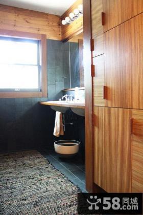 美式家庭装修卫生间图片