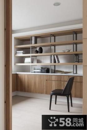 现代设计最新小书房效果图欣赏