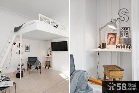 单身公寓书房装修效果图片