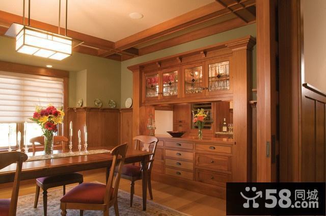 小户型厨房客厅一体装修图