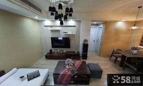 简约公寓房间装修设计效果图