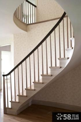 家庭装修旋转楼梯设计效果图