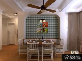 餐厅挂画背景墙装修效果图