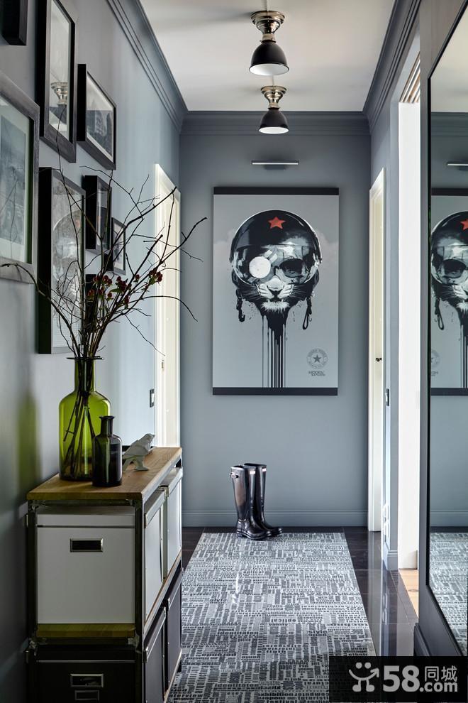 电视背景墙设计效果图现代简约