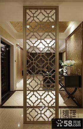 现代风格两室两厅客厅装修设计效果图