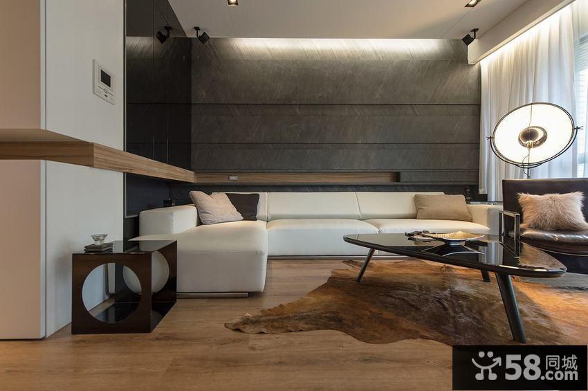 现代一居室装修效果图