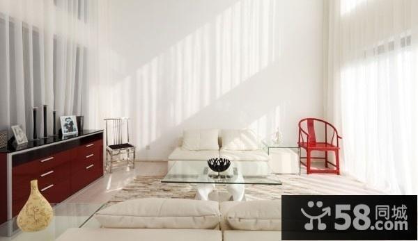 现代简约风格装修电视背景墙