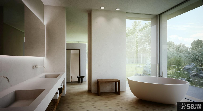 室内装修设计卫生间效果图