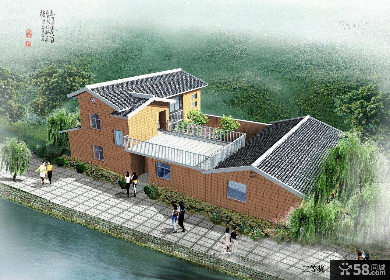 新农村住宅设计图二层