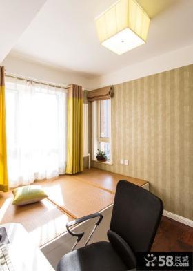 美式现代家装两居室室内装饰效果图