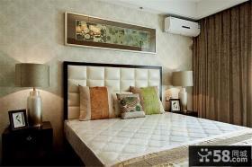 现代简中式卧室布置装饰