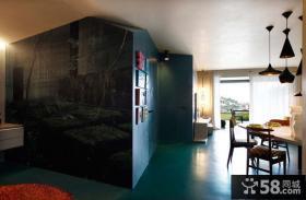 餐厅隔断墙装修图片大全