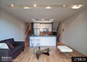 现代简约客厅沙发茶几装修效果图片欣赏