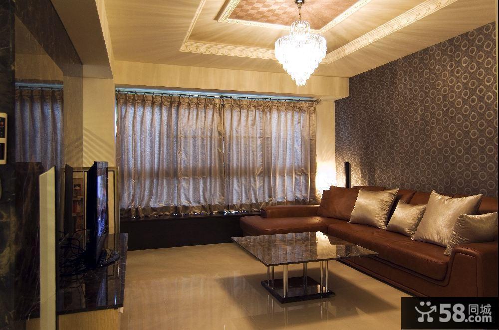 客厅欧式电视背景