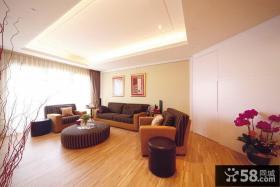 现代大空间三居室装修