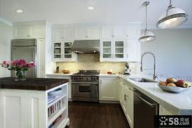 2013开放式家庭厨房装修效果图