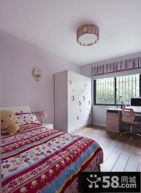浪漫温馨现代儿童房装饰