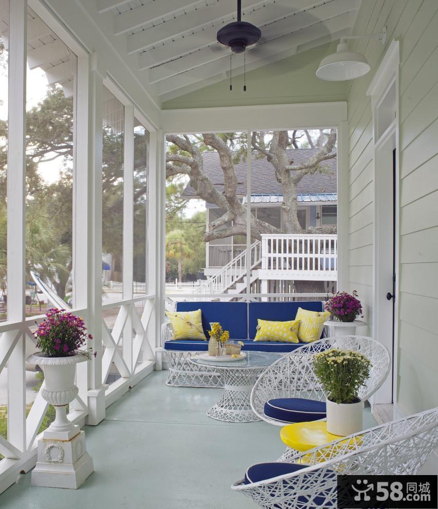 室内阳台装修效果图 封闭式阳台装修效果图大全2012图片