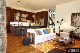 三室两厅现代风格卧室装饰效果图