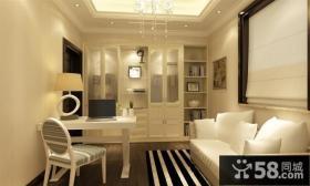 70万打造现代欧式风格三居装修效果图大全2014图片