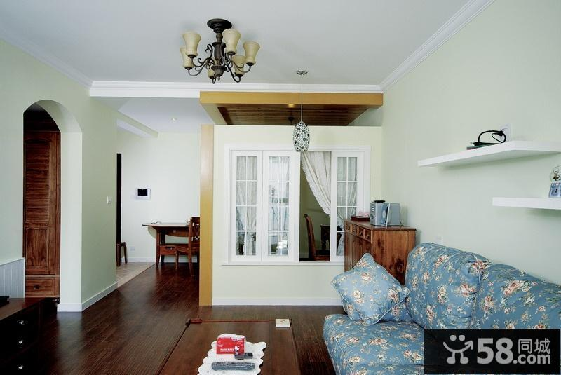 客厅窗户墙隔断效果图欣赏