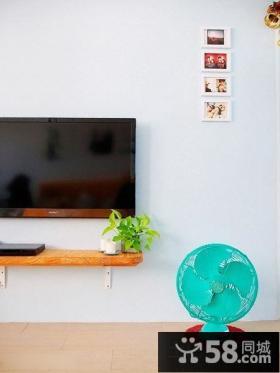 简单电视背景墙装修效果图大全图