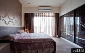 宜家室内三居室卧室布置效果图欣赏