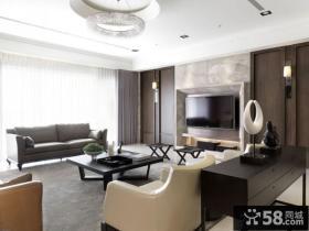日式风格客厅装修图