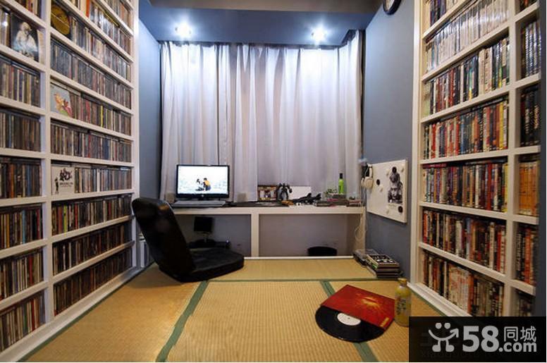 日式风格房间榻榻米装修效果图