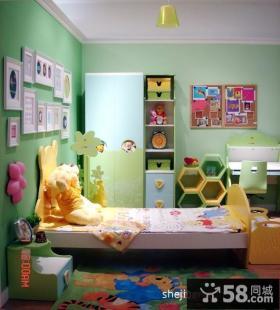 绿色儿童房装修效果图