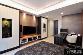 现代卧室摆设布局