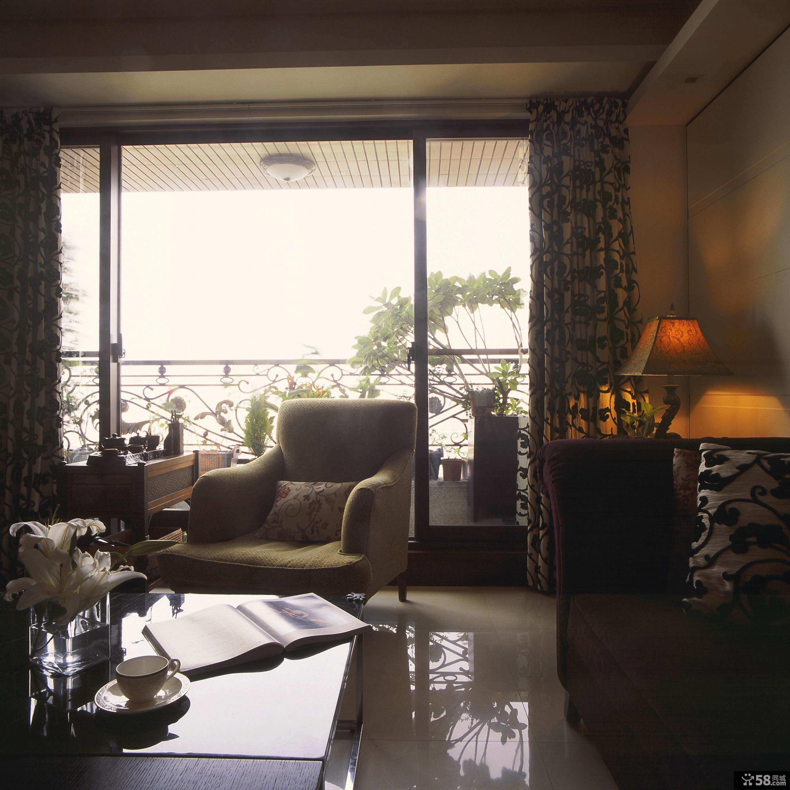 客厅长方形吊顶