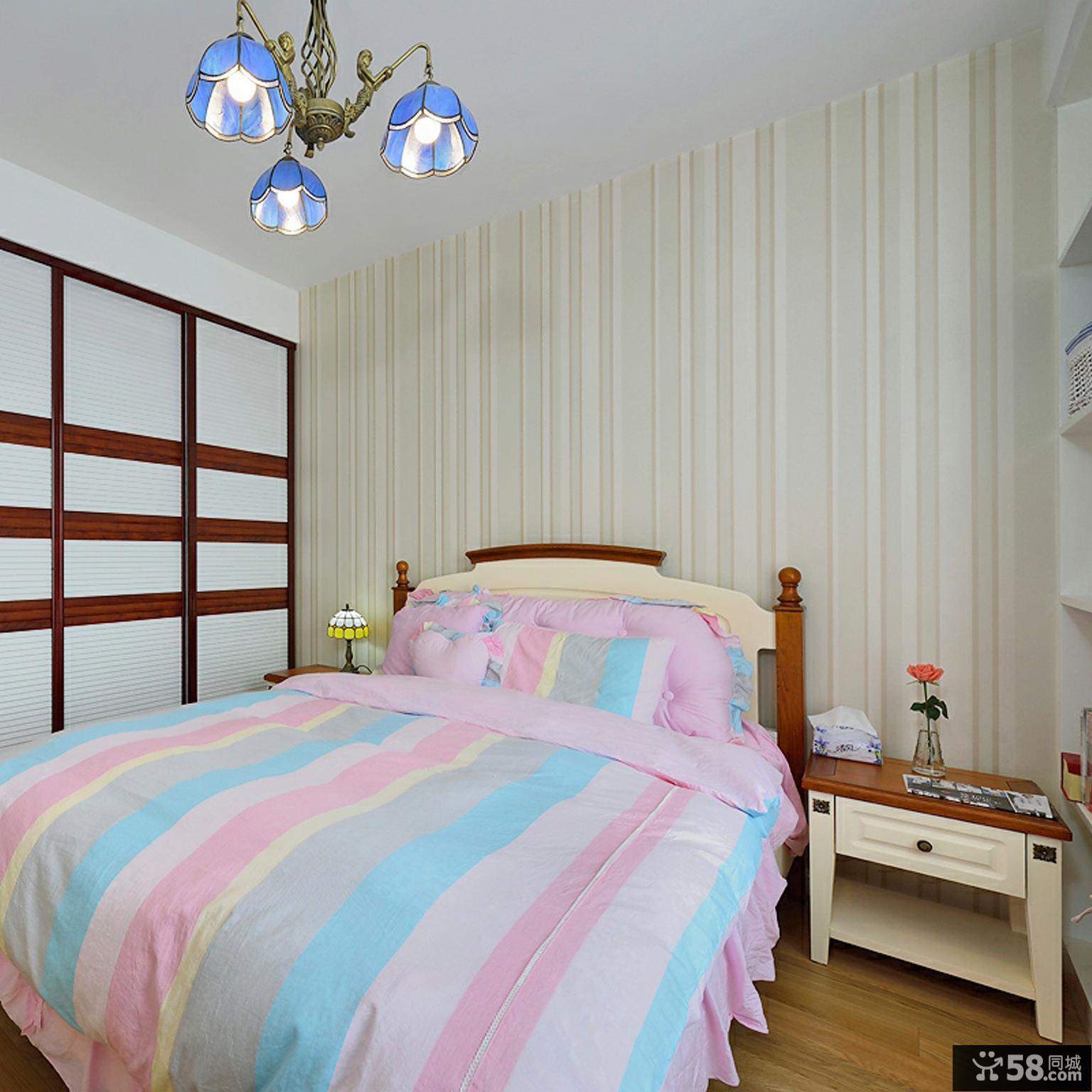 地中海风格两居室装修效果图