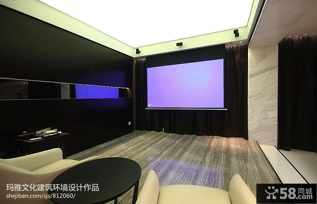现代客厅背景墙纸