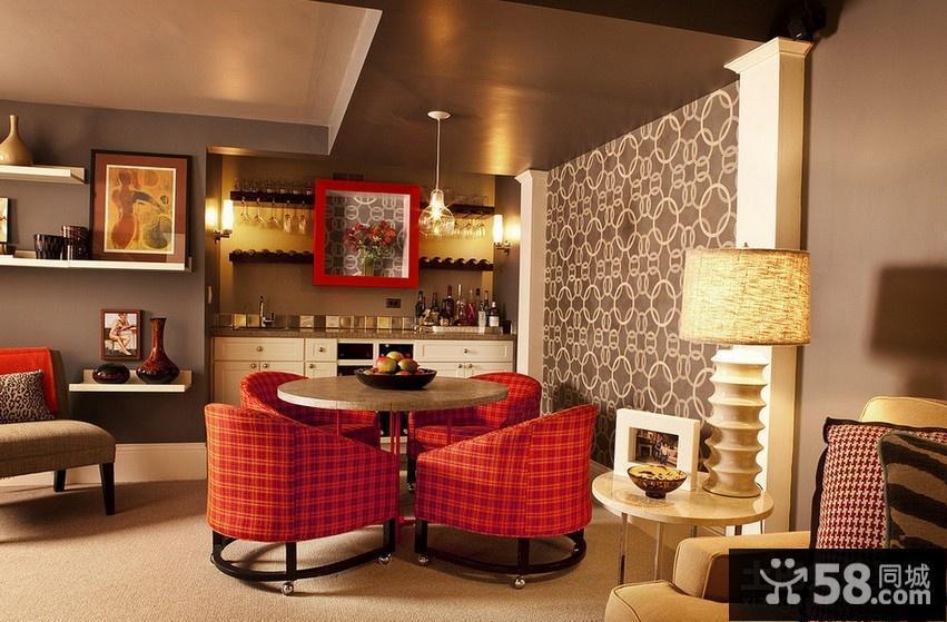 客厅美式乡村风格