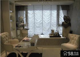 卧室飘窗窗帘设计效果图